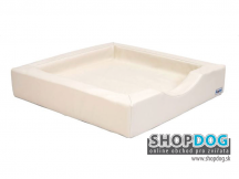 ortopedický pelech Dog Bed® Compact Style 80x80cm biely
